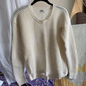 Madewell loose knit sweater